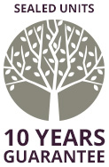 Sealed Units - 10 Years Guarantee